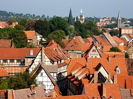 Quedlinburg's Skyline