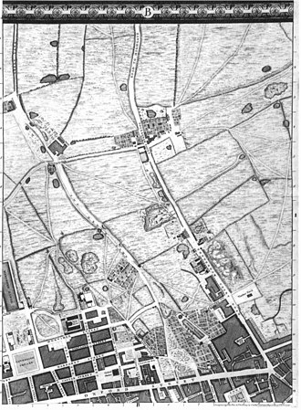 John Rocque's Map of London, 1746 - Image: Roque 1746 London b 1