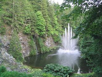 Butchart Gardens - The Ross Fountain