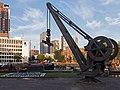 Rotterdam, monumentale havenkraan bij de Leuvehaven foto5 2015-08-02 20.14.jpg