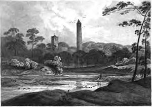Clondalkin - View from 1820