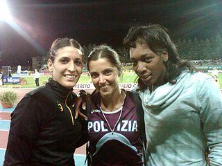 Simona La Mantia Italian triple jumper
