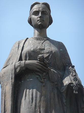 Hurrem Sultan - Roxelana memorial in Rohatyn, Ukraine.