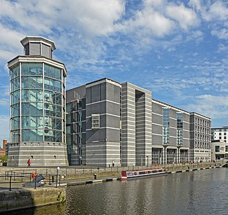Royal Armouries Museum - The rear of the museum.