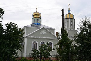 Rozhyshche Volynska-Saint Michael church-north view.jpg
