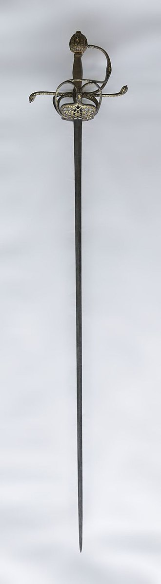 Sword - Sword given to Peter Paul Rubens by Charles I of England