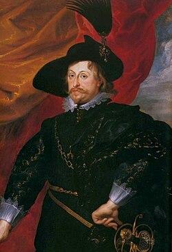 Rubens Władysław Vasa (detail)