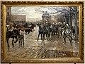 Ruggero panerai, il passaggio di un drappello di artiglieria da piazza san gallo, 1885, 01.jpg