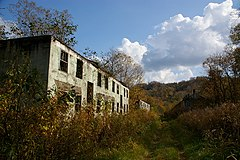 Ruins colliery house.JPG