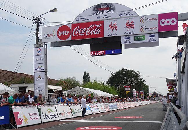 Rumillies (Tournai) - Tour de Wallonie, étape 1, 26 juillet 2014, arrivée (A30).JPG