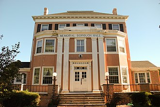 Rumson, New Jersey - Rumson Borough Hall