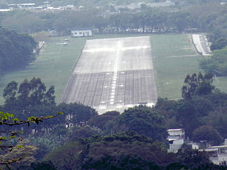 Shek Kong Airfield - Runway of Shek Kong Airfield