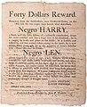 Runaway Slave Reward Broadside, Maryland, 1802.jpg
