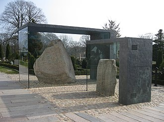 Jelling stones - Jelling stones, in their glass casing (2012)