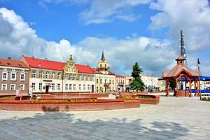 Lubaczów - Market square