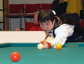 Ryuuji Umeda Japanese billiards player