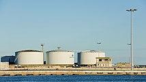 Sète harbour storage tanks.jpg