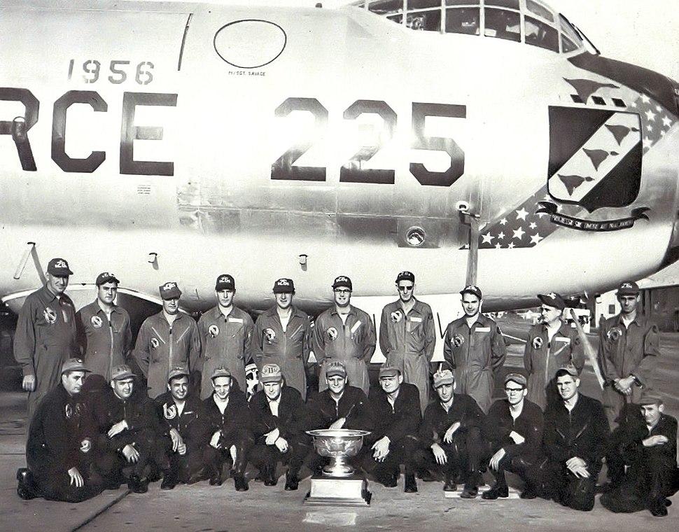 SAC Fairchild Trophy 11th Bombardment Wing Convair B-36J-5-CF Peacemaker 52-2225