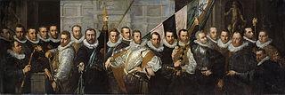 Schutters van de compagnie van kapitein Jacob Gerritsz. Hoing en luitenant Wybrand Appelman