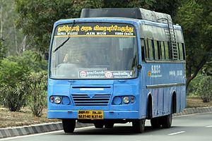 Tamil Nadu State Transport Corporation - Image: SETC bus 1