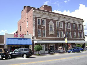 National Register of Historic Places listings in Cook County, Georgia - Image: SE corner of SOWEGA Building