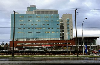 Surrey Memorial Hospital - Image: SMH Critical Care Tower