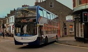 Scania N-series - Stagecoach In Chorley, Alexander Dennis Enviro 400 bodied N230UD
