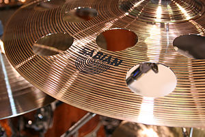 Effects cymbal - Sabian O-zone vented crash cymbal