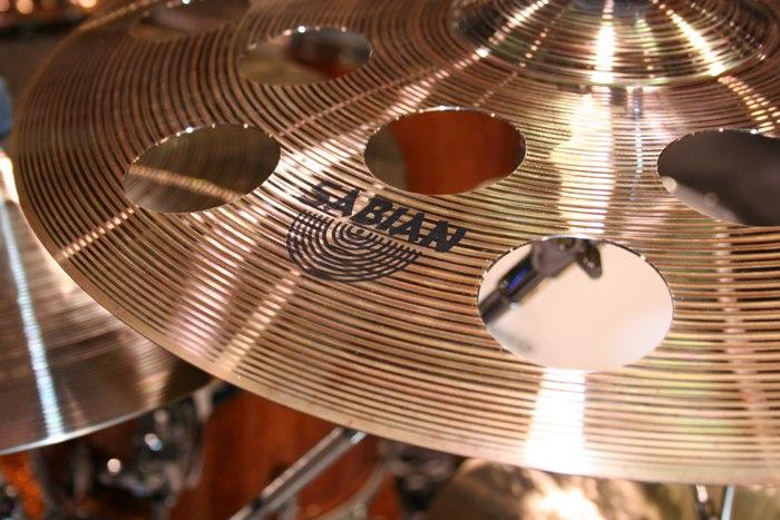 Sabian O-zone cymbal