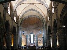 Interno dell'abbazia