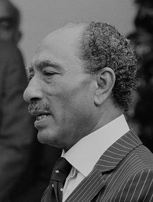 President Anwar Sadat of Egypt