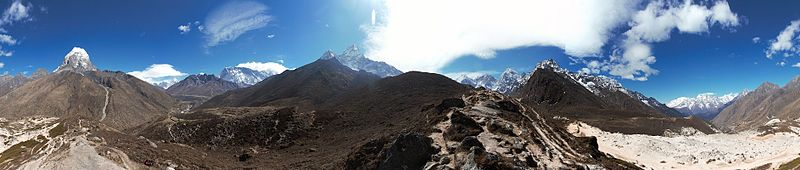 Sagarmatha National Park-Tengboche to Dingboche 2013-05-02 08-59-03 pano.jpg