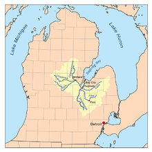Chippewa River (Michigan) - Wikipedia