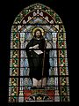Saint-Onen-la-Chapelle (35) Église Saint-Onen Intérieur Vitrail de Saint-Onen.jpg