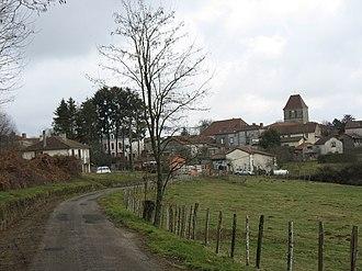 Saint-Saud-Lacoussière - Image: Saint Saud Lacoussière