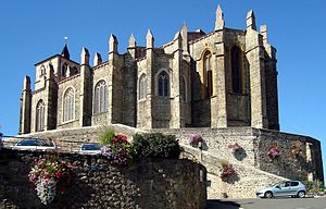 Pierre Girard (cardinal) - Collegiate Church at Saint-Symphorien-sur-Coise