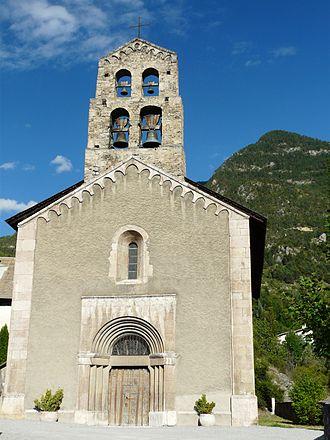 La Roche-de-Rame - The church of Saint-Laurent in La Roche-de-Rame