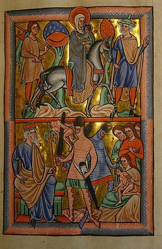 December 29 (Eastern Orthodox liturgics) - Image: Saint Louis Psalter 19 recto