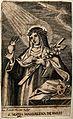 Saint Mary Magdalen dei Pazzi. Etching by Bianchi, 1853. Wellcome V0032625.jpg