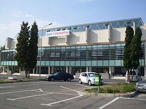 Sala Sporturilor, Braşov, Romania, August 2013, 03