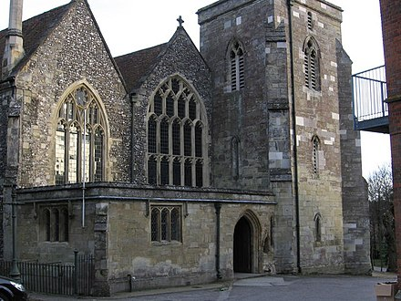 St Martin's Church (Church of England) Salisbury - St Martin's Church - geograph.org.uk - 1184177.jpg