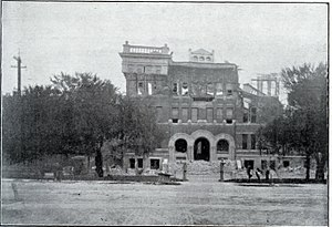 San Jose High School - Image: San Jose High School (old ruins)