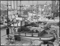 San Pedro, California. Fishing boats, formerly operated by residents of Japanese ancestry, are tied . . . - NARA - 536827.tif
