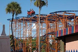 Sand Serpent Steel roller coaster