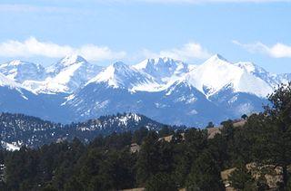 American mountain range