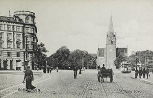 Sankt Hans Torv - The square in the 1890s