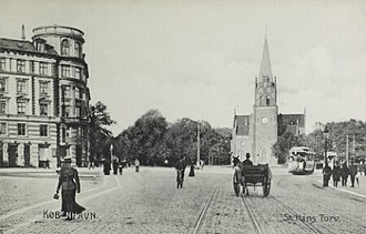 Sankt Hans Torv - The square in the 1890s