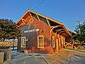 Santa Clara Depot. California railway station 1863.JPG