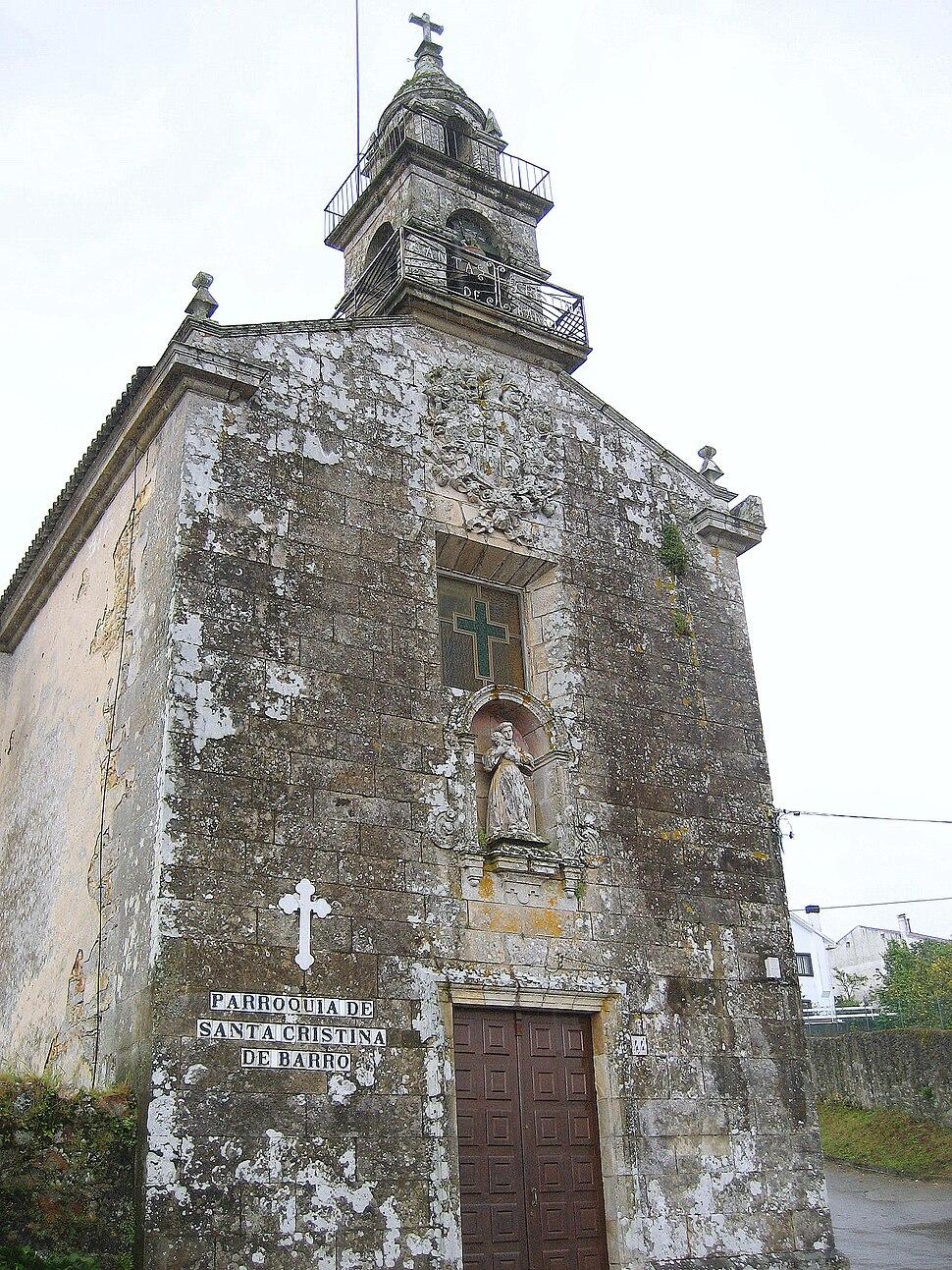 Santa Cristina de Barro, Noia