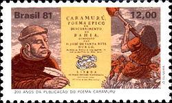 Santa Rita Durão 1981 Brazil stamp.jpg